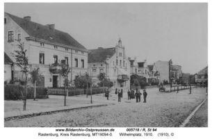 Rastenburg, Stadt, Kreis Rastenburg Adolf-Hitler-Platz