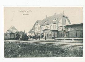 Allenburg, Stadt, Kreis Wehlau