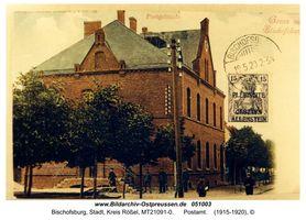 Bischofsburg, Stadt, Kreis Rößel Bismarckstraße