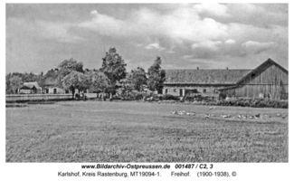 Karlshof Kr. Rastenburg, Kreis Rastenburg