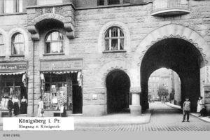 Königsberg (Pr.), Stadtkreis Königsberg Königseck