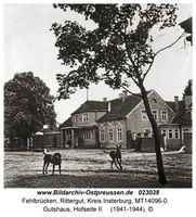 Fehlbrücken, Rittergut, Kreis Insterburg