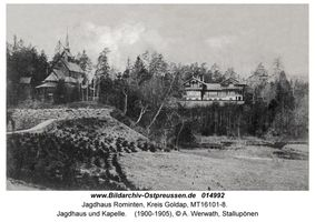 Jagdhaus Rominten, Kreis Goldap