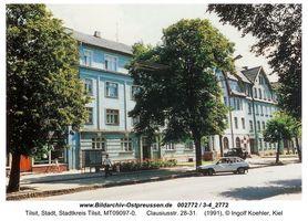 Tilsit, Stadt, Stadtkreis Tilsit Clausiusstraße 28-31