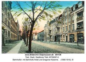 Tilsit, Stadt, Stadtkreis Tilsit Bahnhofstraße