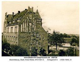 Bischofsburg, Stadt, Kreis Rößel  6 und 8
