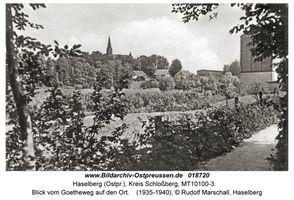 Haselberg (Ostpr.), Kreis Schloßberg