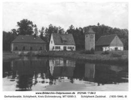 Gerhardswalde, Schöpfwerk, Kreis Elchniederung