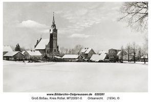 Groß Bößau, Kreis Rößel