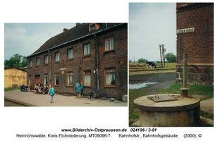 Heinrichswalde Kr. Elchniederung, Kreis Elchniederung Bahnhofstraße
