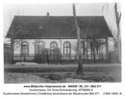 Kuckerneese, Ort, Kreis Elchniederung Hafenstraße