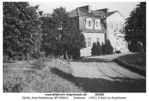 Görlitz Kr. Rastenburg, Gut, Kurhaus und Bahnstation, Kreis Rastenburg