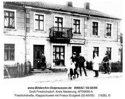 Groß Friedrichsdorf, Kreis Elchniederung Friedhofstraße