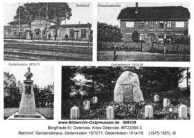 Bergfriede Kr. Osterode, Kreis Osterode