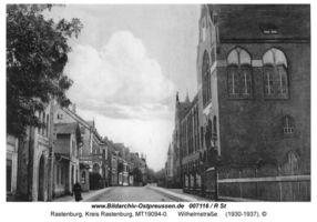 Rastenburg, Stadt, Kreis Rastenburg Wilhelmstraße