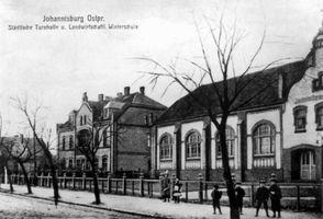 Johannisburg, Kreis Johannisburg Bahnhofstraße