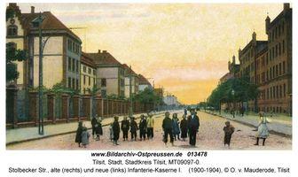 Tilsit, Stadt, Stadtkreis Tilsit Stolbecker Straße