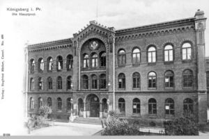 Königsberg (Pr.), Stadtkreis Königsberg Poststraße