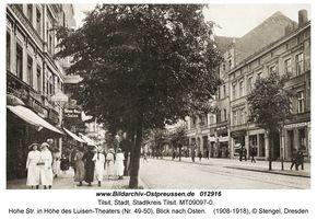 Tilsit, Stadt, Stadtkreis Tilsit Hohe Straße 49 - 50