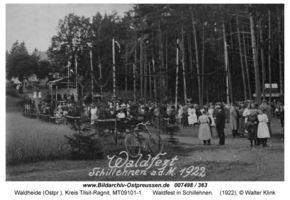Waldheide (Ostpr.), Kreis Tilsit-Ragnit