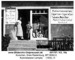 Korschen, Kreis Rastenburg Kollmerstraße