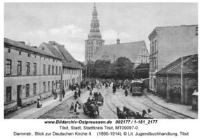 Tilsit, Stadt, Stadtkreis Tilsit Dammstraße