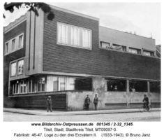 Tilsit, Stadt, Stadtkreis Tilsit Fabrikstraße 46-47