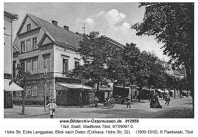 Tilsit, Stadt, Stadtkreis Tilsit Hohe Straße 32