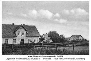 Jägersdorf Kr. Neidenburg, Kreis Neidenburg