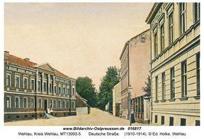 Wehlau, Kreis Wehlau Deutsche Straße
