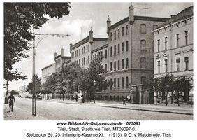 Tilsit, Stadt, Stadtkreis Tilsit Stolbecker Straße 25