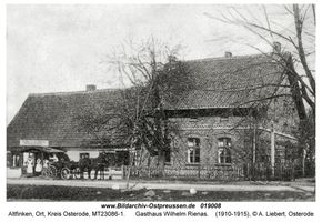 Altfinken, Ort, Kreis Osterode