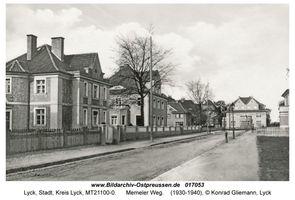 Lyck, Stadt, Kreis Lyck Memeler Weg