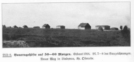 Lindenau Kr. Osterode, Kreis Osterode