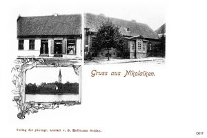 Nikolaiken Kr. Sensburg, Kreis Sensburg