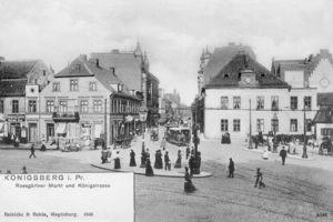 Königsberg (Pr.), Stadtkreis Königsberg Roßgärter Markt