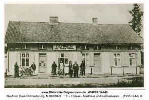 Neufrost, Kreis Elchniederung