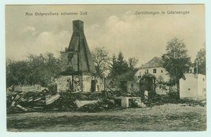 Uderwangen, Ort und Försterei, Kreis Preußisch Eylau