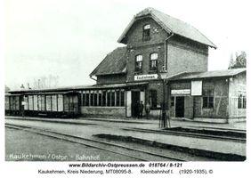 Kuckerneese, Ort, Kreis Elchniederung Bahnhofstraße
