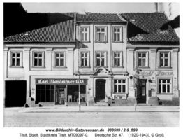 Tilsit, Stadt, Stadtkreis Tilsit Deutsche Straße 47