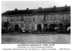 Kuckerneese, Ort, Kreis Elchniederung Am Markt 21