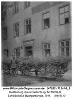 Rastenburg, Stadt, Kreis Rastenburg Schloßstraße