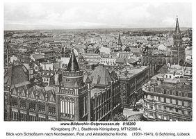 Königsberg (Pr.), Stadtkreis Königsberg Kantstraße (fr. Prinzessinstraße)