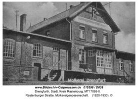 Drengfurth, Stadt, Kreis Rastenburg Rastenburger Straße