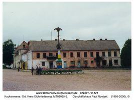 Kuckerneese, Ort, Kreis Elchniederung Am Markt 15