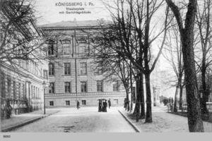 Königsberg (Pr.), Stadtkreis Königsberg Theaterstraße