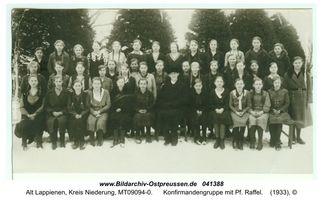 Rauterskirch, Kreis Elchniederung