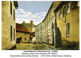 Heilsberg Kr. Heilsberg, Stadt, Kreis Heilsberg