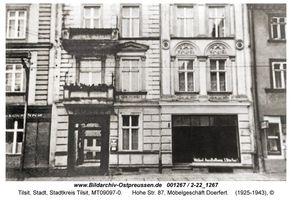 Tilsit, Stadt, Stadtkreis Tilsit Hohe Straße 87