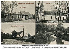 Birkenmühle, Kreis Ebenrode